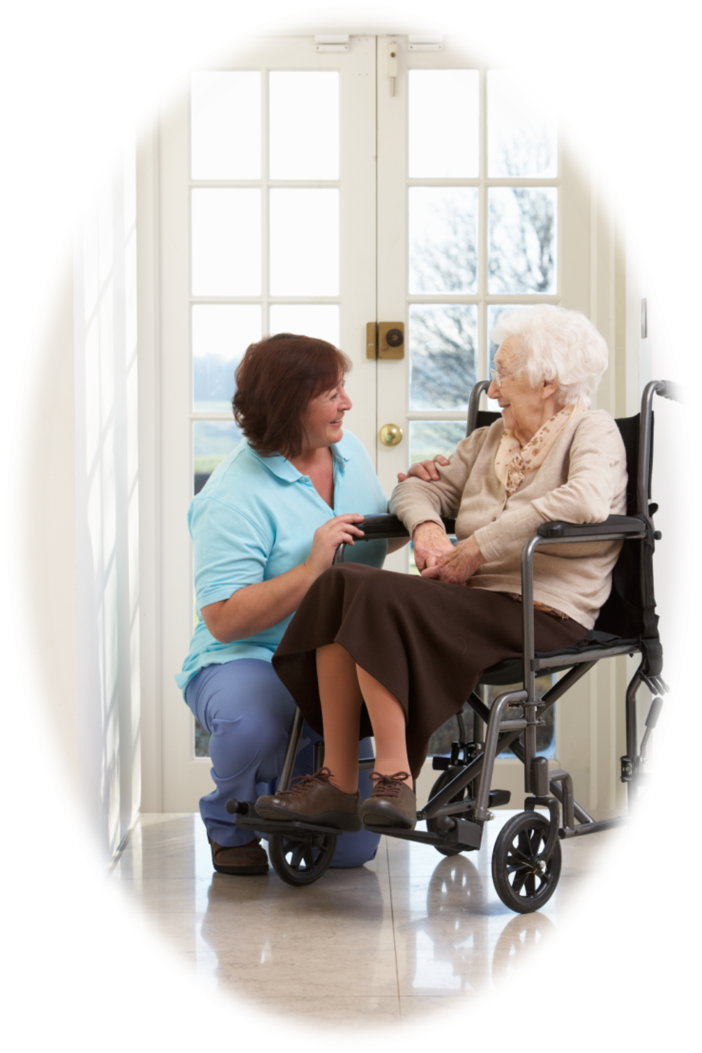 oval-caregiver-wheelchair