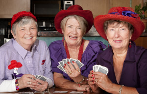 Red Hatters Card Group