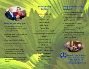 Senior One Source Tri-Fold Brochure-Arizona Inside